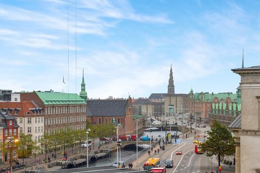 Ejerlejlighed på Gammel Strand i København K - Udsigt