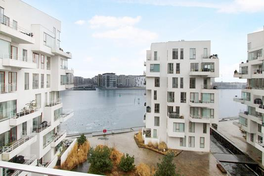 Ejerlejlighed på Havneholmen i København V - Udsigt