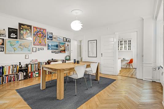 Ejerlejlighed på Gråbrødretorv i København K - Stue