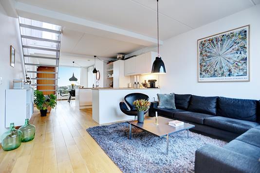 Ejerlejlighed på Richard Mortensens Vej i København S - Stue