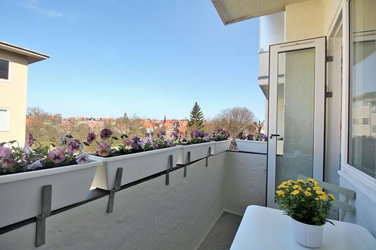 Ejerlejlighed på C.F. Richs Vej i Frederiksberg - Altan