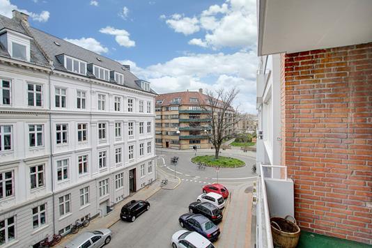 Ejerlejlighed på Bianco Lunos Alle i Frederiksberg C - Udsigt