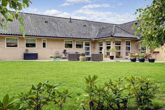 Villa på Bindesbøllsvej i Charlottenlund - Have