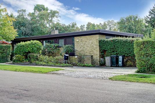 Villa på Trongårdsparken i Kongens Lyngby - Ejendommen