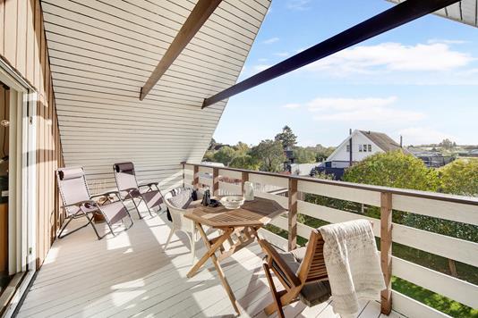 Villa på Johannesburg Alle i Kastrup - Altan