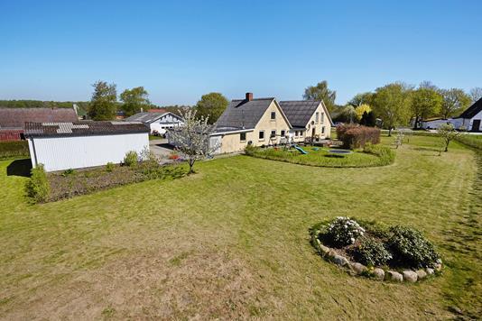 Villa på Ørnstrupvej i Stenderup - Ejendommen
