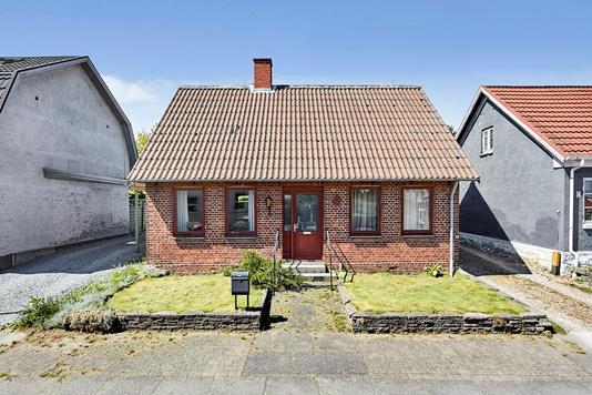 Villa på Bredgade i Juelsminde - Facade
