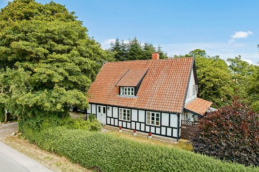 Villa på Ørnstrupvej i Stenderup - Mastefoto