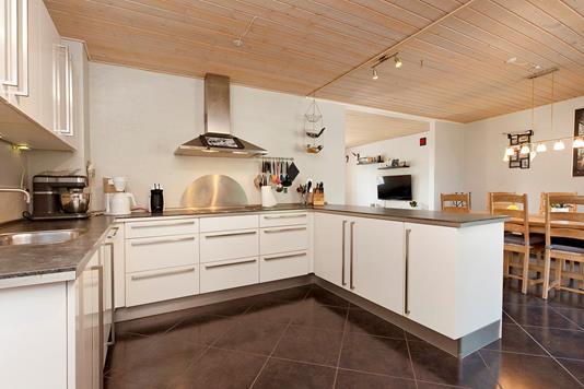 Villa på Barrit Langgade i Barrit - Køkken