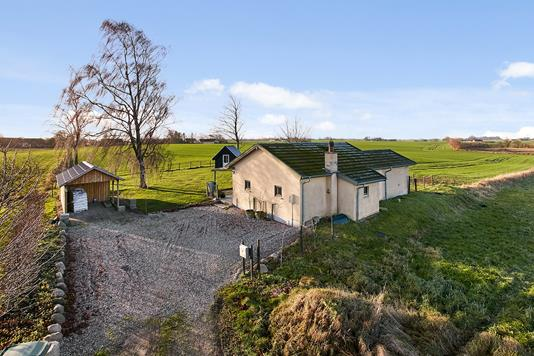 Villa på Lundevej i Stouby - Mastefoto