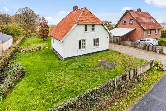 Villa på Søndergade i Hornsyld - Mastefoto