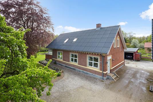 Villa på Bråskovvej i Hornsyld - Mastefoto