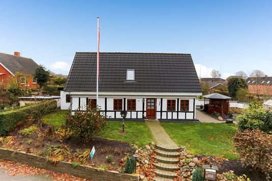 Villa på Dybdalsvej i Hornsyld - Mastefoto