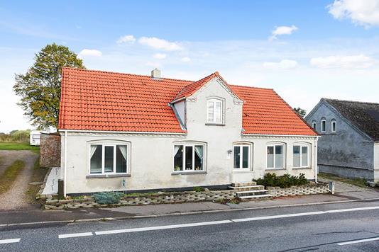 Villa på Bråskovvej i Hornsyld - Ejendommen