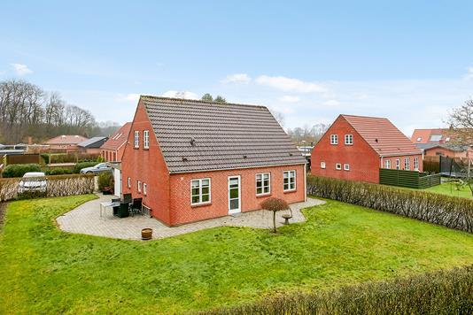 Villa på Lindevej i Hornsyld - Mastefoto