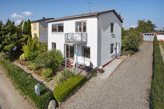 Villa på Kirkedalsvej i Juelsminde - Facade