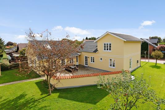 Villa på Stouby Møllevej i Stouby - Mastefoto