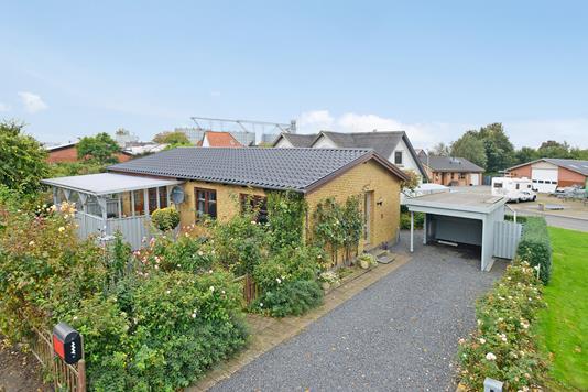 Villa på Posthusvej i Hornsyld - Mastefoto