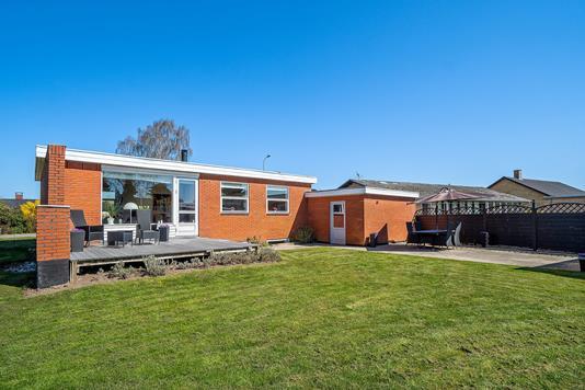 Villa på Havkærvej i Tilst - Set fra haven