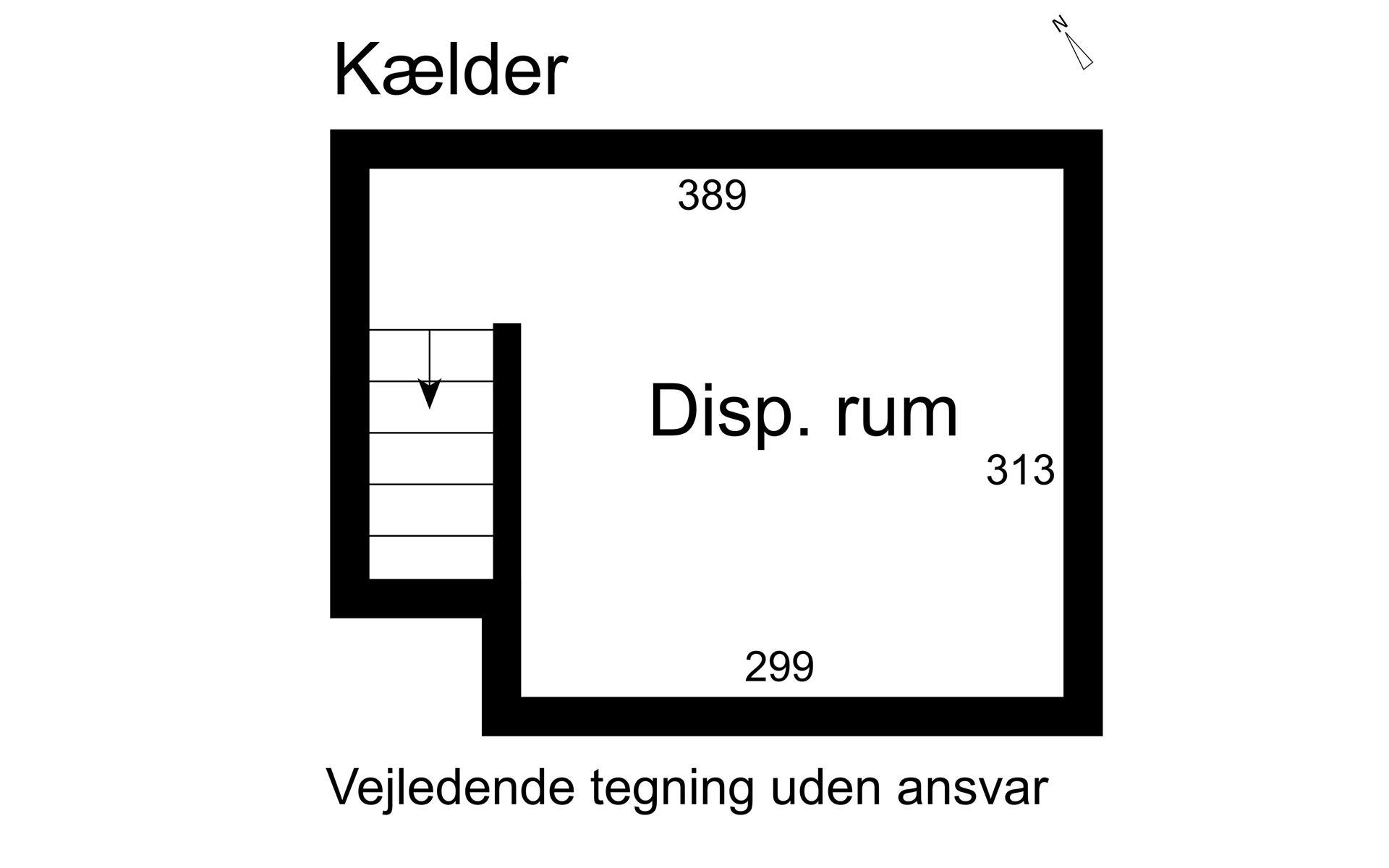 Rækkehus på Borum Byvej i Sabro - Kælder