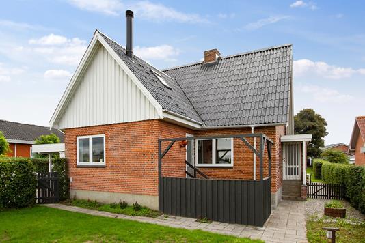 Villa på Tilst Vestervej i Tilst - Set fra haven