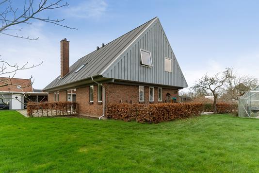 Villa på Vistoftvej i Sabro - Set fra haven