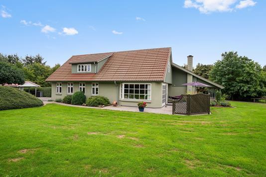 Villa på Viborgvej i Sabro - Set fra haven