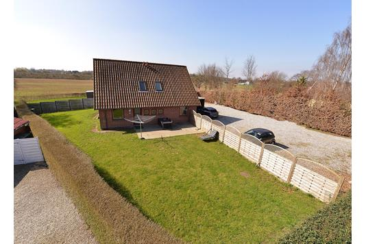 Villa på Gammel Viborgvej i Sabro - Mastefoto