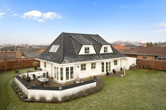 Villa på Østermarksvej i Tilst - Set fra haven
