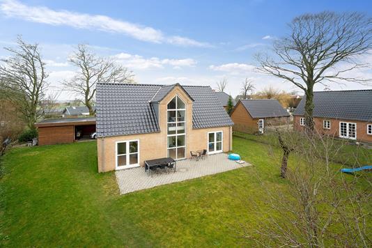 Villa på Gedingvej i Tilst - Set fra haven