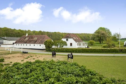 Villa på Vesterskovmark i Havndal - Ejendommen