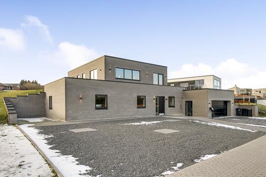 Villa på Bøgebakken i Langå - Ejendommen