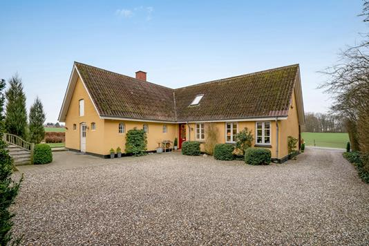 Villa på Stabelsvej i Spentrup - Ejendommen