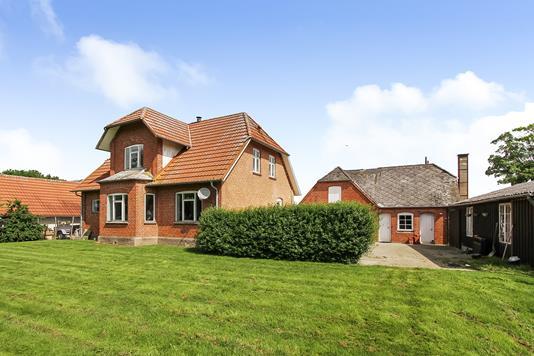 Villa på Sognevej i Randers NV - Ejendommen