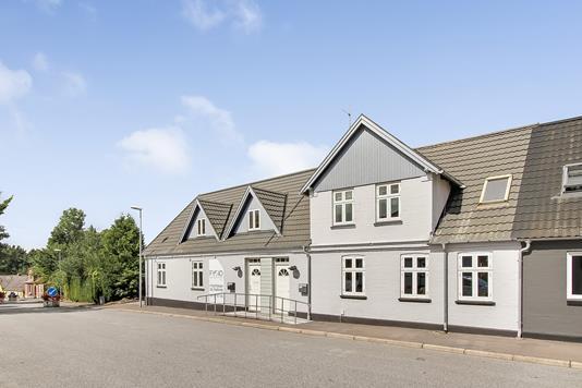 Villa på Vestergade i Gjerlev J - Ejendommen