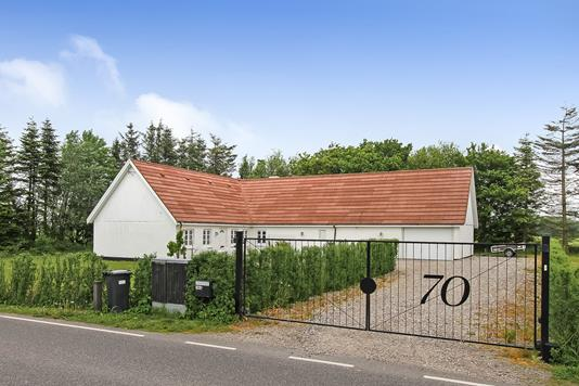 Villa på Trehøjevej i Spentrup - Ejendommen