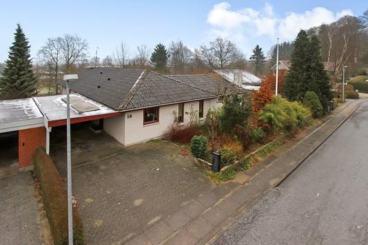 Villa på Kildedalen i Langå - Ejendommen