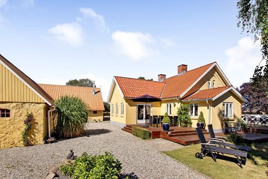 Villa på Bjerring Hede i Bjerringbro - Ejendommen