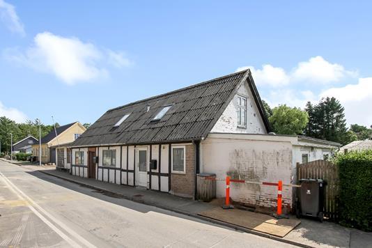 Villa på Thorsgade i Thorsø - Ejendommen