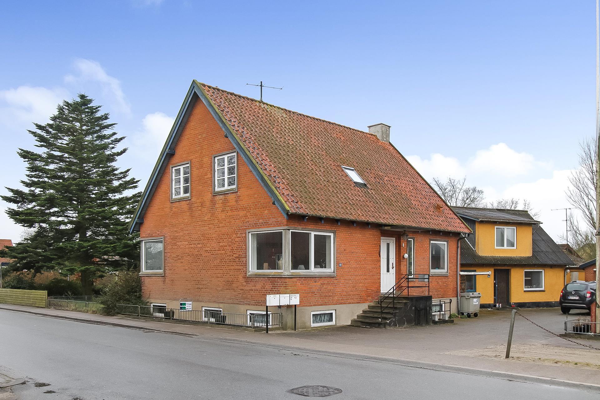 Villalejlighed på Mammen Byvej i Bjerringbro - Ejendommen