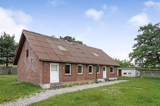 Villa på Østervænget i Rødkærsbro - Ejendommen