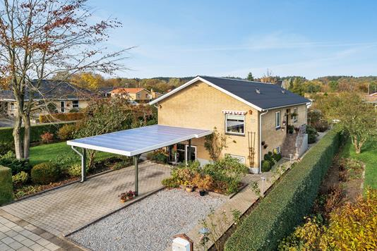 Villa på Vestervang i Bjerringbro - Ejendommen