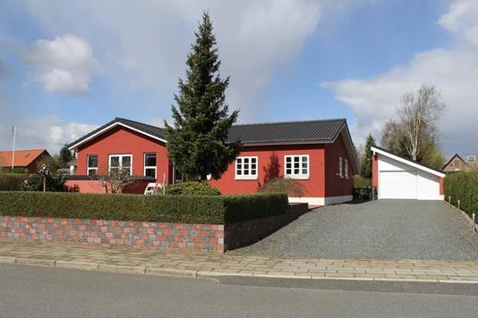 Villa på Lindevej i Bjerringbro - Facade