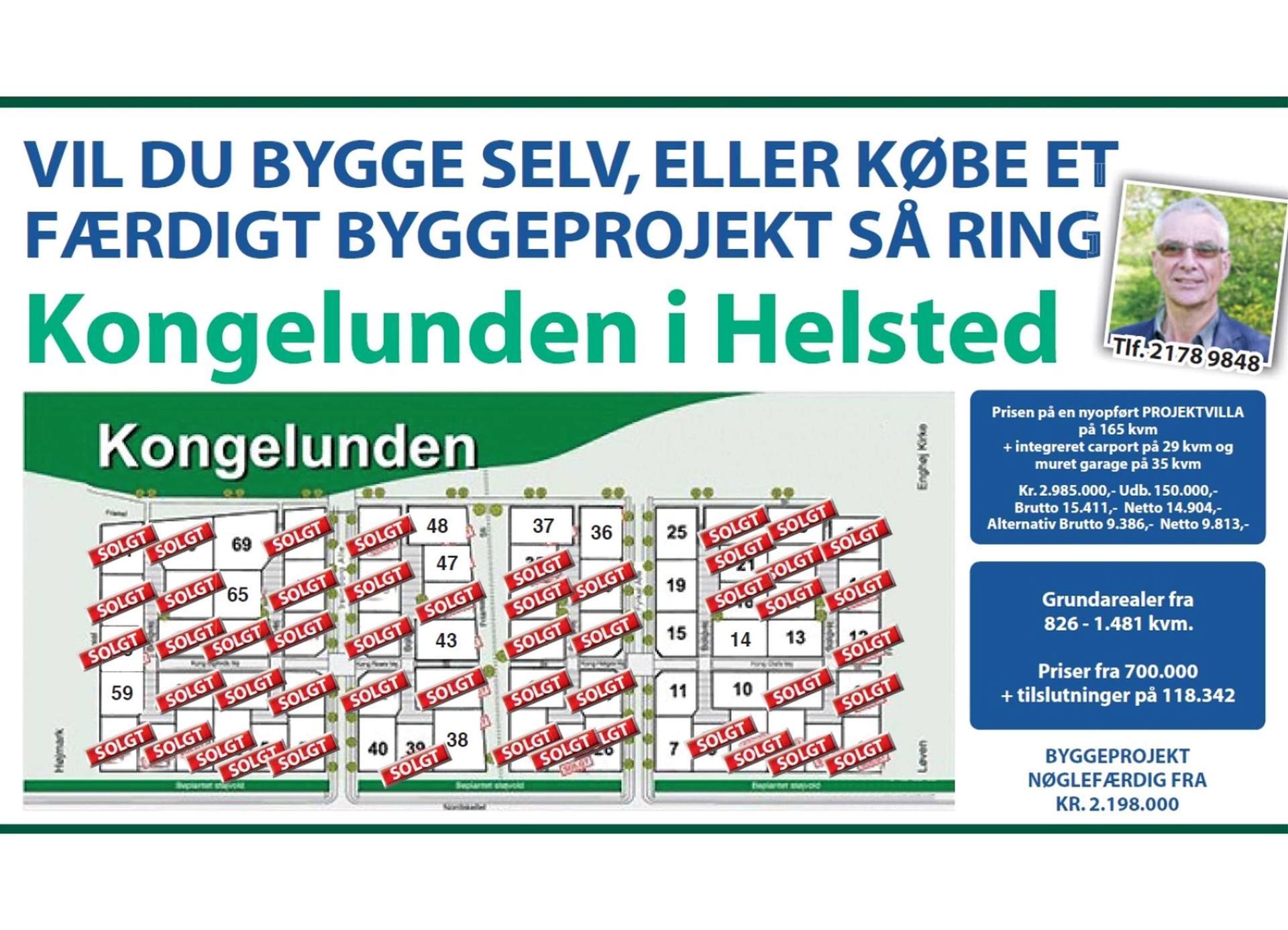 Helårsgrund på Kong Helges Vej i Randers NV - Andet