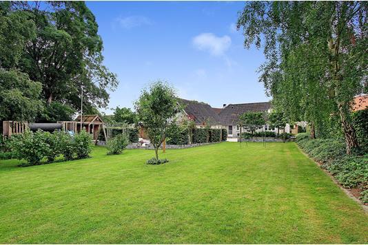 Villa på Løvskal Landevej i Bjerringbro - Have