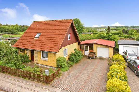 Villa på Østergade i Bjerringbro - Ejendommen