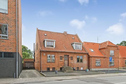 Villa på Storegade i Bjerringbro - Ejendommen