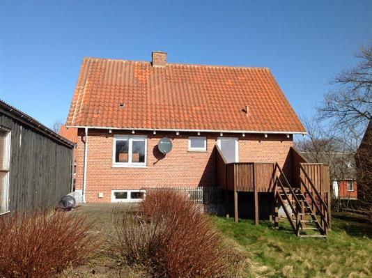 Villa på Ydbyvej i Hurup Thy - Set fra haven