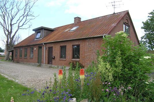 Villa på Limfjordsgade i Snedsted - Facade