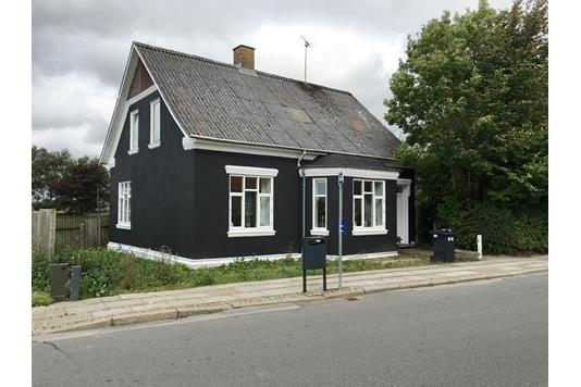 Villa på Ved Parken i Snedsted - Facade